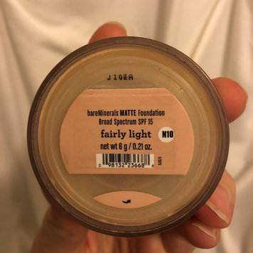 Photo of bareMinerals MATTE Foundation Broad Spectrum SPF 15 uploaded by Andrea F.