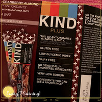 KIND® Cranberry Almond + Antioxidants With Macadamia Nuts uploaded by Chenille M.