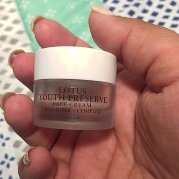 Photo of fresh Lotus Youth Preserve Face Cream uploaded by Karla R.