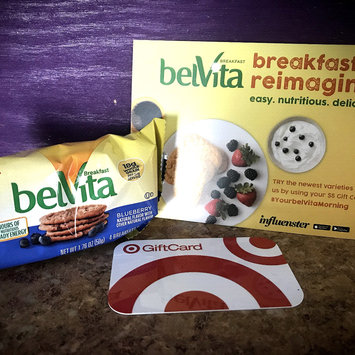 Photo of belVita Blueberry Breakfast Biscuits uploaded by Cheyenne J.