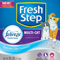 Fresh Step Scoopable Clumping Cat Litter uploaded by Sammy C.