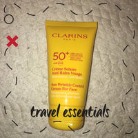 Clarins Sunscreen for Face Wrinkle Control Cream SPF 30 uploaded by Cécile F.