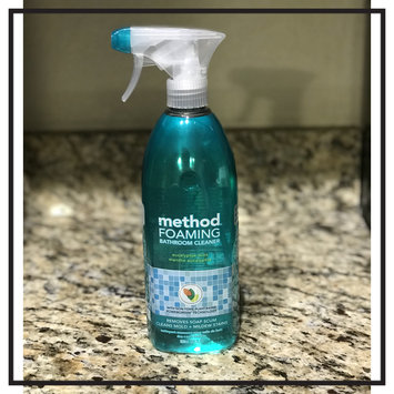 Photo of Method Foaming Bathroom Cleaner - Eucalyptis Mint - 28 oz uploaded by Himali B.