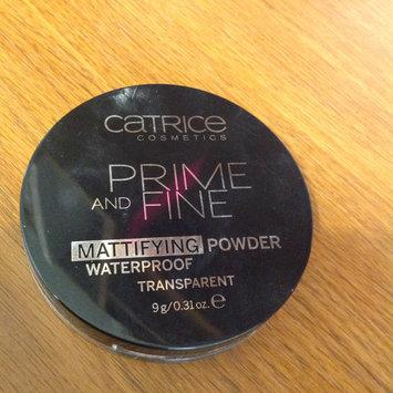 Photo of Catrice Prime & Fine Waterproof Mattifying Powder uploaded by Christina F.