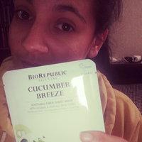 BioRepublic Cucumber Breeze Soothing Fiber Mask uploaded by heather R.