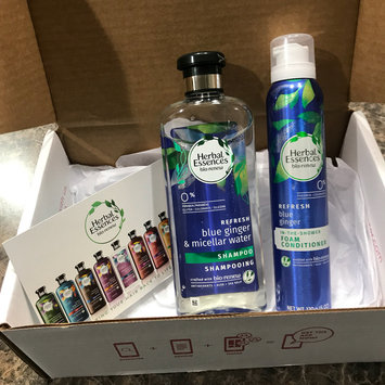 Photo of Herbal Essences Micellar Water & Blue Ginger Shampoo uploaded by Maria C.