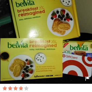 Photo of belVita Blueberry Breakfast Biscuits uploaded by Heather E.