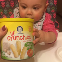 Gerber® Lil' Crunchies® | Veggie Dip uploaded by Kendra S.
