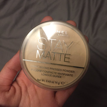 Photo of Rimmel London Stay Matte Pressed Powder uploaded by autumn g.