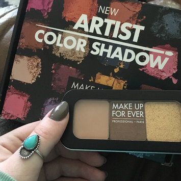 Photo of MAKE UP FOR EVER Artist Color Shadow High Impact Eye Shadow uploaded by Cayce H.