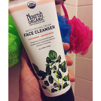 Nourish Organic™ Moisturizing Cream Face Cleanser Cucumber + Watercress uploaded by Michelle L.