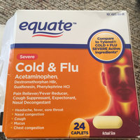 Severe Cold Multi-Symptom Daytime by Equate 24ct Compare to Tylenol Cold Multi-Symptom Severe Daytime uploaded by Wendy C.