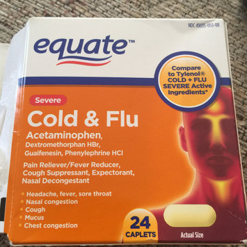 Photo of Severe Cold Multi-Symptom Daytime by Equate 24ct Compare to Tylenol Cold Multi-Symptom Severe Daytime uploaded by Wendy C.