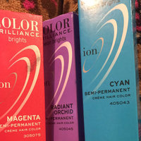 Ion Color Brilliance Semi Permanent Neon Brights Hair Color Cyan uploaded by McKenzie O.