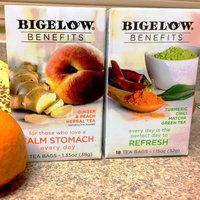 Bigelow® Benefits Ginger & Peach Herbal Tea uploaded by Gwendolyn J.