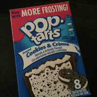 Kellogg's Pop-Tarts Frosted Cookies & Cream Toaster Pastries uploaded by Nikki w.