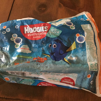 Photo of Huggies® Naturally Refreshing Thick 'n' Clean Cucumber and Green Tea Baby Wipes uploaded by Amber T.