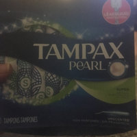 Tampax Pearl Regular Plastic Tampons, Unscented uploaded by Jodi J.