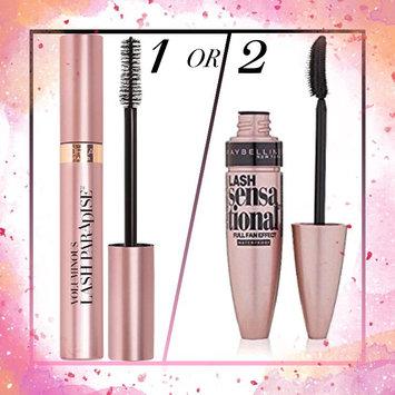 b1d2baa12d1 Maybelline Lash Sensational® Waterproof MascaraL'Oréal Paris Voluminous® Lash  Paradise Waterproof Mascara