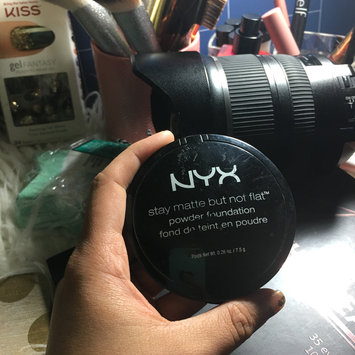 Photo of NYX Stay Matte But Not Flat Powder Foundation uploaded by Aly S.