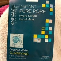Andalou Naturals Instant Pure Pore Hydro Serum Facial Mask uploaded by shannon w.