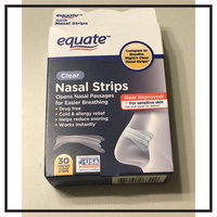 Equate Clear Nasal Strips, 30ct, Compare to Breathe Right Clear Nasal Strips uploaded by Himali B.