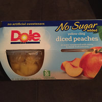 Dole Yellow Cling No Sugar Added Diced Peaches uploaded by Nikki w.