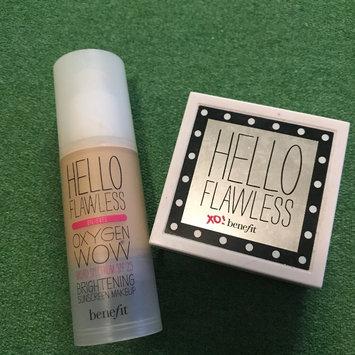 Photo of Benefit Cosmetics Hello Flawless Oxygen Wow! Liquid Foundation uploaded by Lauren J.