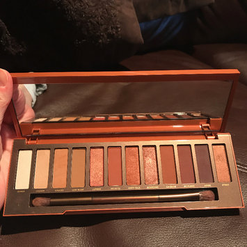 Photo of Urban Decay Naked Heat Eyeshadow Palette uploaded by Nicole R.
