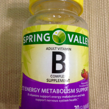 Photo of Spring Valley Adult Gummy B-Complex Vitamin Supplement Gummies uploaded by Nka k.
