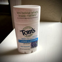 Tom's OF MAINE ANTIPERSPIRANT & DEODORANT Unscented Long Lasting Deodorant uploaded by Jessica C.