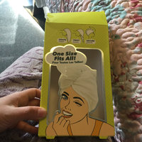 Microfiber Twist Hair Turban and Bouffant Shower Cap set by Spa Savvy Hair Color Is Orange (2pack) uploaded by Melanie M.