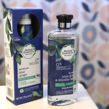 Photo of Herbal Essences Micellar Water & Blue Ginger Shampoo uploaded by Stephanie B.