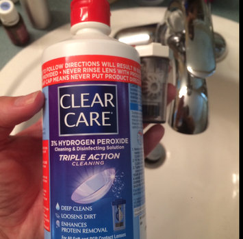 Photo of Clear Care Cleaning & Disinfecting Solution uploaded by Kate V.