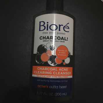 Photo of Biore® Charcoal Acne Clearing Cleanser uploaded by Monique F.