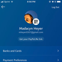 Paypal uploaded by Madacyn H.