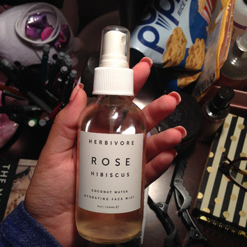 Photo of Herbivore Rose Hibiscus Coconut Water Hydrating Face Mist 4 oz uploaded by Morgan T.