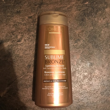 Photo of L'Oréal Paris Sublime Bronze Luminous Bronzer Self-Tanning Lotion uploaded by Lisa M.