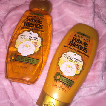 Photo of Garnier Whole Blends®  Illuminating Shampoo with Moroccan Argan and Camellia Oils Extracts uploaded by Makayla T.