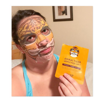 Photo of SNP Animal Tiger Wrinkle Mask Sheet uploaded by Jamie R.
