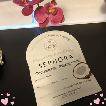 Photo of SEPHORA COLLECTION Hair Sleeping Mask Coconut 1.0 oz/ 30 mL uploaded by Venus O.