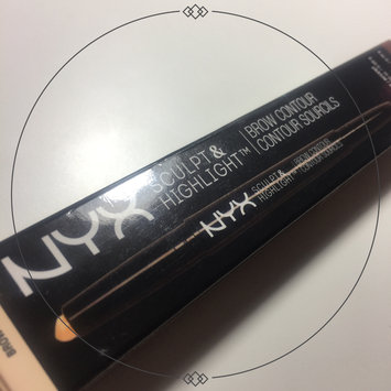 Photo of NYX Sculpt and Highlight Brow Contour uploaded by Janelle J.