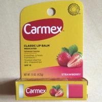 Carmex Moisturizing Lip Balm Stick SPF 15 Strawberry 0.15 Oz. (Quantity of 6) uploaded by Katy P.