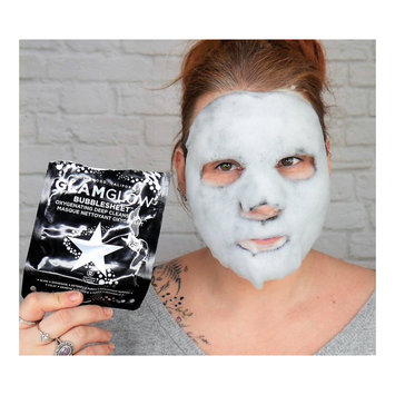 Photo of GLAMGLOW BUBBLESHEET Oxygenating Deep Cleanse Mask uploaded by Claire K.