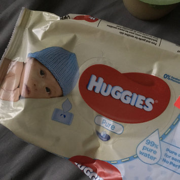 Photo of Huggies® Pure Baby Wipes uploaded by Lisa C.