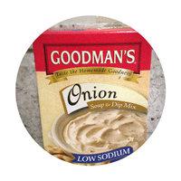 Goodman Soup/Dip Mix Onion Low-Salt 2.75 oz. (Pack of 24) uploaded by Nka k.