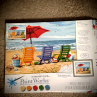 Dimensions 14x11 Paint By Number Kit - Beach Chair Trio uploaded by Nka k.