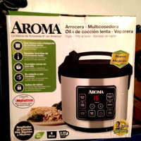 Aroma 20-Cup Fuzzy Logic Programmable Rice Cooker and Steamer, Stainless Steel uploaded by Nka k.