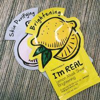 TONYMOLY I'm Real - Lemon Face Mask Sheet - Brightening uploaded by Jonna S.
