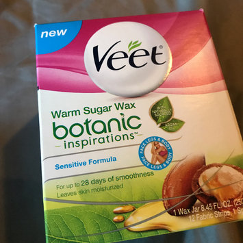 Photo uploaded to Veet® Botanic Inspirations™ Warm Sugar Wax 1 Kit by Lisa C.